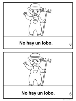 """El niño que grita, """"¡lobo!"""" ~ The Boy who Cries, """"Wolf!"""" Readers {Bilingual}"""
