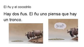 El ñu y el cocodrilo