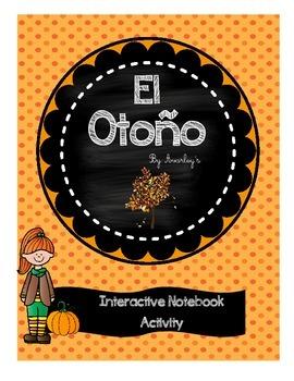 El otoño ~ Fall ~ Interactive notebook activity
