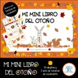 El otoño, Mi mini libro del otoño,  Autumn Fall printable