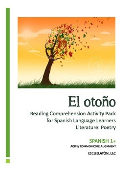El otoño: Spanish 1 Reading Comprehension Activity Pack (Common Core)