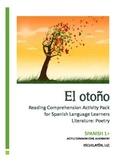 El otoño: Spanish 1 Reading Comprehension Activity Pack (C