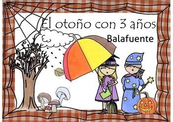 El otoño con 3 años