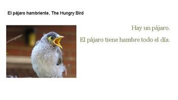 El pájaro hambriente