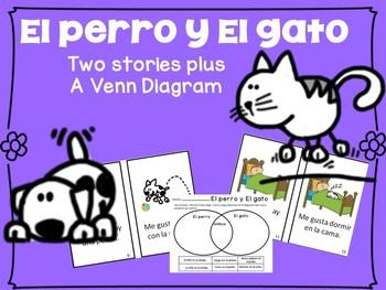 El perro el gato 2 spanish cat dog readers venn diag en espaol ccuart Image collections