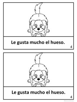 El perro y su reflejo ~ Spanish Dog & His Reflection Fable Reader ~Simplified