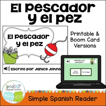 El pescador y el pez ~ Spanish Fisherman & the Fish Fable Reader ~Simplified