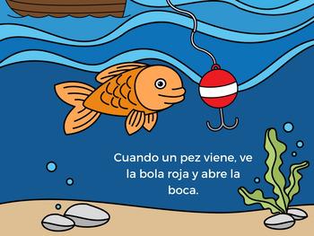 El pescador y el pez (The Fish and the Fisherman in Spanish)