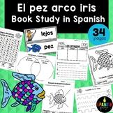 El pez arco iris (Book Study in Spanish) actividades / escritura