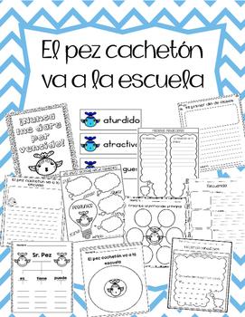 El pez cachetón va a la escuela (Pout pout fish SPANISH)