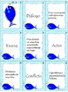 Drama Elements Vocabulary Matching Game - Vocabulario de Elementos de Drama