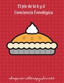 El pie de la b y d: Conciencia fonológica
