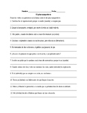 Realidades 3, Chapter 5. Pluperfect. Quiz / Activities