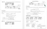 El presente / Present indicative Spanish introduction packet