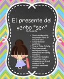 """El presente del verbo """"ser"""""""