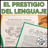 El prestigio del lenguaje: hojas de trabajo - worksheets i