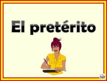 El preterito. A complete PowerPoint