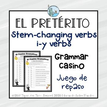 El preterito de Cambio radical y verbos i-->y