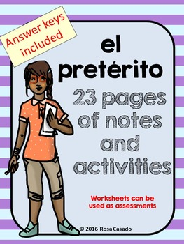 El preterito Review Packet