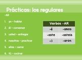 El preterito PowerPoint introduction - the preterite tense in Spanish