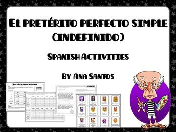 El preterito perfecto simple- Spanish activities
