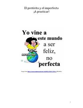 El préterito y el imperfecto /Preterite and Imperfect