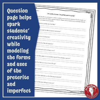 El pretérito y el imperfecto: Un cuento al revés #7