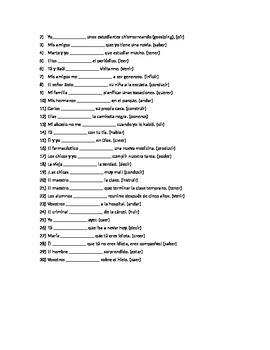 El pretérito – Irregular verbs (except -car, -gar, -zar & stem-changing verbs)