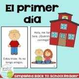 El primer día Spanish Reader & timeline {First day of school ~ en español}