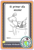 El primer día escolar Back to School Printable Spanish Minibook