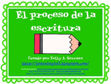 The Writing Process Posters in Spanish ( FREEBIE )
