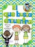 El que busca encuentra (Martin Luther King Jr.) Write the
