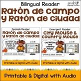 El ratón de campo y el ratón de ciudad ~ City Mouse & Country Mouse {Bilingual}