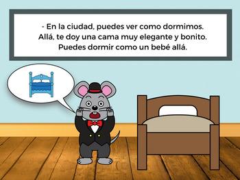 El ratoncito del campo y de la ciudad (The City Mouse and Country Mouse)
