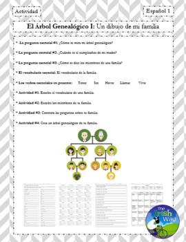 La Familia - El Árbol Genealógico - Un Proyecto - Creating your Family Tree