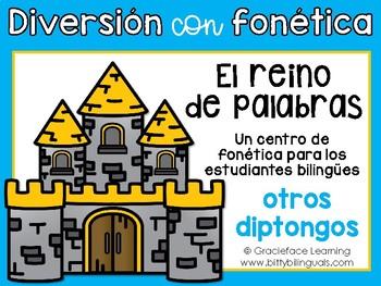 Spanish Phonics Center for Diphthongs - Centro de diptongos