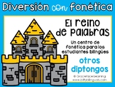 Spanish Phonics Center for Diphthongs - Centro de diptongos