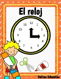 El reloj | Clock | Time in spanish