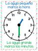 El reloj análogo y digital - Posters 8x10