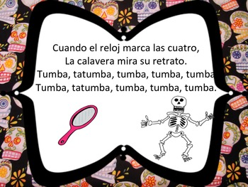 El reloj de la calavera: A chant for Day of the Dead
