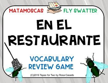 El restaurante MataMoscas game