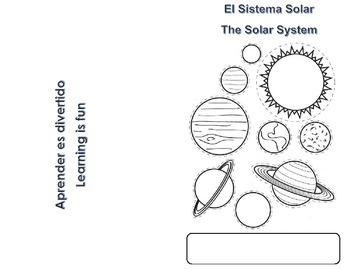 Solar System Mini Book (English/Spanish)