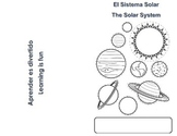 Solar System Mini Book (English/Spanish)