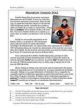 El sistema solar - 8 day+ unit for Spanish 1