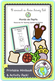 El sándwich de Mateo Manners in Spanish Printable Minibook & Activity Pack