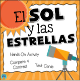 El sol y las estrellas - The Sun & Stars Activities in Spanish