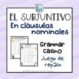 El subjuntivo GAME