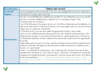 El sustantivo Montessori. Guía de actividades