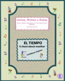 """Weather – Spanish Rap-like Musical Chant with exercises and MP3 from """"Cantos"""""""