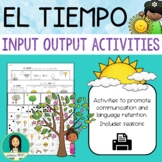 El tiempo / Spanish Weather Activity Packet
